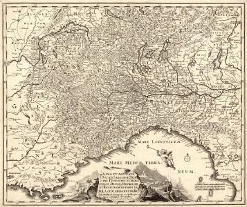Nova et accurata Ducatus Sabaudiae, Principat. Pedemont. et Montferat., Ducatus Mediolan. et Reipub. Genuensis tabula