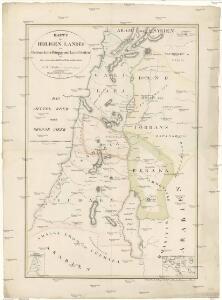 Karte des Heiligen Landes