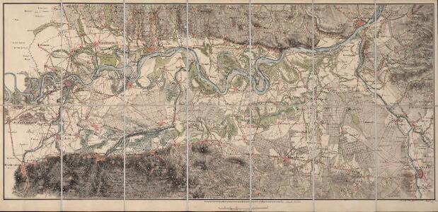 [Topographische Charte der Gegend zwischen Rhein, Neckar und Mayn]