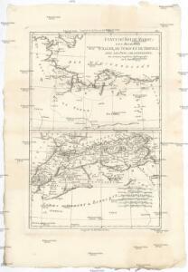 Etats du roi de Maroc, les royaumes d'Alger, de Tunis et de Tripoli, avec les pays circonvoisins