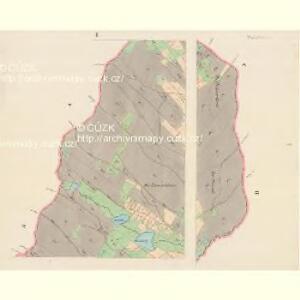 Hielgersdorf - c6854-2-001 - Kaiserpflichtexemplar der Landkarten des stabilen Katasters