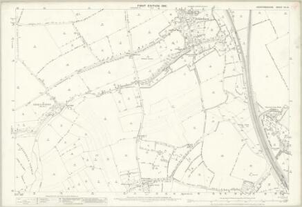 Hertfordshire VII.13 (includes: Hitchin Urban; Ickleford; Pirton) - 25 Inch Map