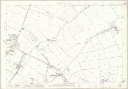 Yorkshire XXV.14 (includes: Barton; Gilling; Melsonby; Middleton Tyas) - 25 Inch Map