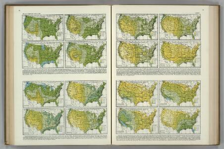 Relative Humidity, Vapor Pressure, Wet Bulb Temperature Depression.   Atlas of American Agriculture.