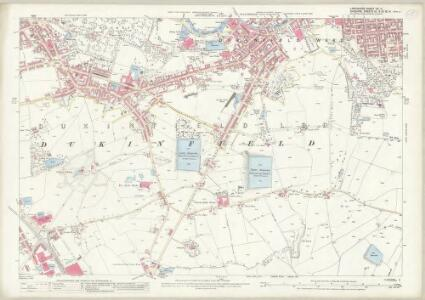 Lancashire CV.11 (includes: Denton; Dukinfield; Hyde; Stalybridge) - 25 Inch Map