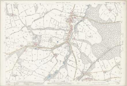 Yorkshire CCLXXIV.9 (includes: Cawthorne; Dodworth; Penistone; Silkstone) - 25 Inch Map