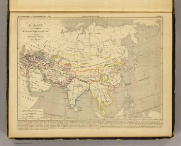 L'Asie, l'an 322 av. J.C.