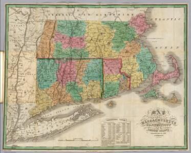 Massachusetts, Connecticut, Rhode Island.
