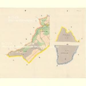 Sattel (Sedloňow) - c6810-1-001 - Kaiserpflichtexemplar der Landkarten des stabilen Katasters