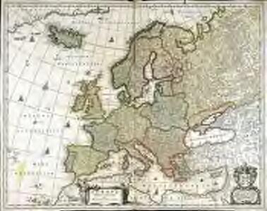Europa delineata et recens edita