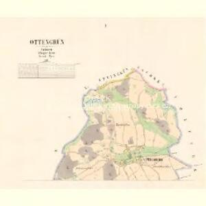 Ottengrün - c5590-2-001 - Kaiserpflichtexemplar der Landkarten des stabilen Katasters