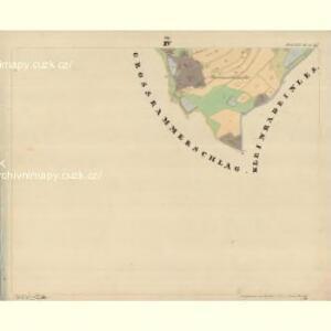 Brunn - c7515-1-004 - Kaiserpflichtexemplar der Landkarten des stabilen Katasters