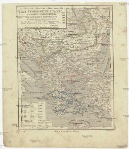 Die europäische Türkei mit dem Schutz-Fürstenthümern, das Königreich Griechenland, und die Republik der Sieben Ionischen Inseln (unter Britischen Schutze)