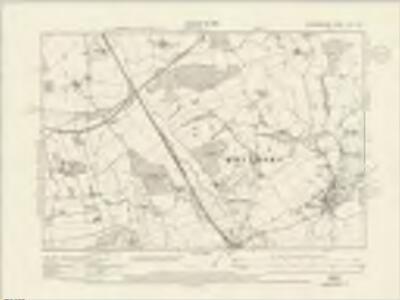 Staffordshire XVII.SW - OS Six-Inch Map