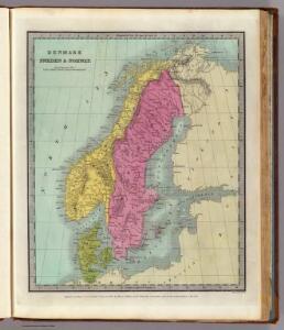 Denmark Sweden & Norway.