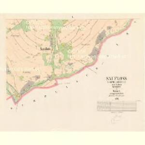 Saufloss (Sauwlasneg) - c7157-1-003 - Kaiserpflichtexemplar der Landkarten des stabilen Katasters