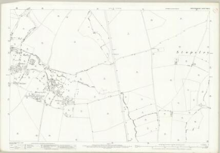 Bedfordshire XXX.13 (includes: Luton; Streatley) - 25 Inch Map