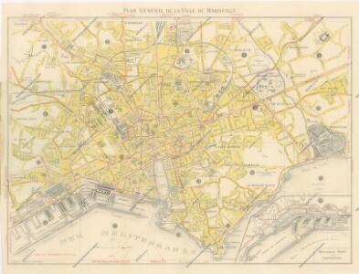 Liste des Rues et Plan de Marseille