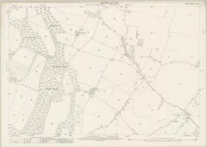 Kent XLIV.16 (includes: Stalisfield; Throwley; Westwell) - 25 Inch Map