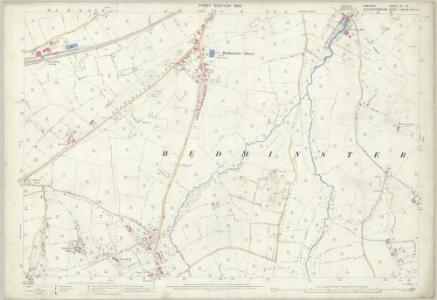 Somerset VI.10 (includes: Bristol; Long Ashton) - 25 Inch Map