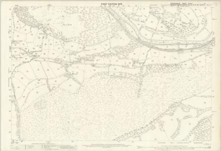 Denbighshire XXXIV.13 (includes: Corwen; Llangollen Rural; Llantysilio) - 25 Inch Map