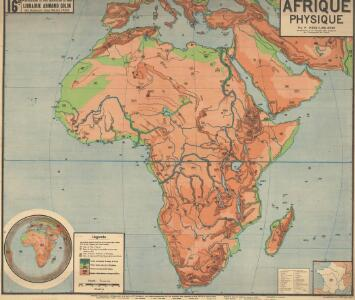 Afrique physique
