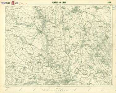 III. vojenské mapování 4860
