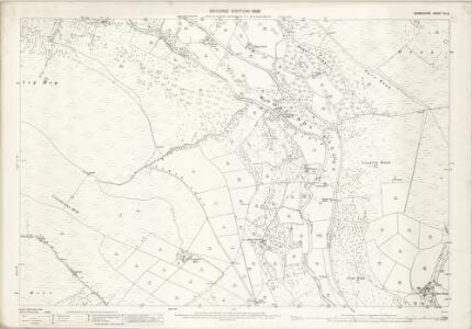 Derbyshire VII.9 (includes: Edale; Hope Woodlands; Hope) - 25 Inch Map