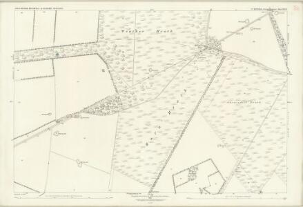 Suffolk XXI.8 (includes: Elveden; Eriswell; Icklingham) - 25 Inch Map