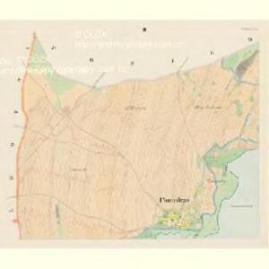 Poniedraž - c6006-1-002 - Kaiserpflichtexemplar der Landkarten des stabilen Katasters