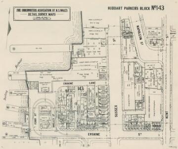 Huddart Parker's Block No.143, 25.11.21 (b&w)