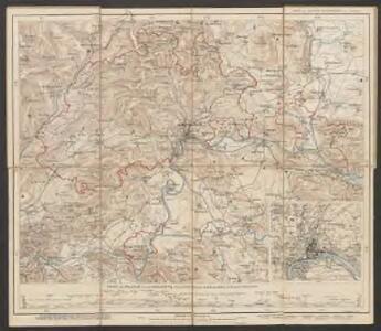 Karte des Kantons Schaffhausen
