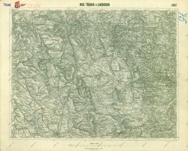 III. vojenské mapování 4057