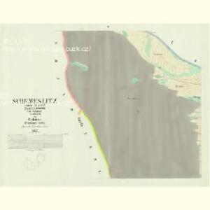 Schemeslitz - c8896-1-004 - Kaiserpflichtexemplar der Landkarten des stabilen Katasters