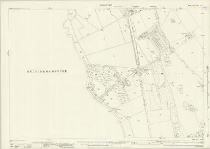 Middlesex IX.7 (includes: Denham; Uxbridge) - 25 Inch Map