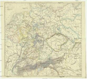 Carte générale de l'Allemagne en 1789