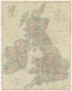 Map of the British Isles