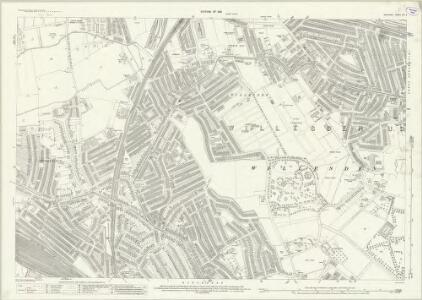 Middlesex XVI.2 (includes: Willesden) - 25 Inch Map