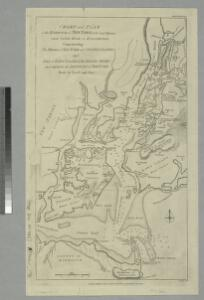 Chart and plan of the harbour of New York & the couny. adjacent, from Sandy Hook to Kingsbridge : comprehending the whole of New York and Staten Islands, and part of Long Island & the Jersey shore, and shewing the defences of New York both by land and se