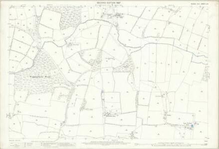 Sussex LI.4 (includes: Ashurst; Steyning) - 25 Inch Map