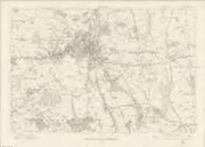 Derbyshire XXV - OS Six-Inch Map