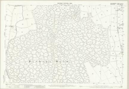 Staffordshire XXVIII.8 (includes: Cheswardine; Eccleshall) - 25 Inch Map