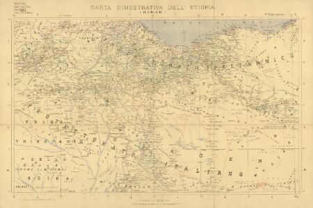 Carta dimostrativa della Etiopia (Sheet 6)
