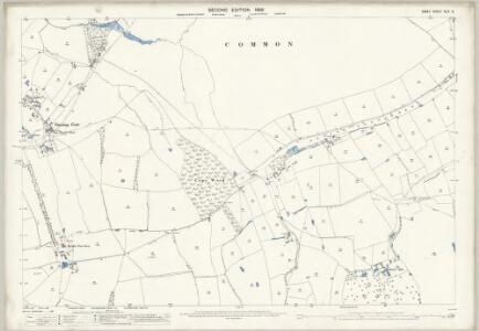 Essex (1st Ed/Rev 1862-96) XLIX.8 (includes: Epping Upland; Nazeing; Waltham Holy Cross) - 25 Inch Map