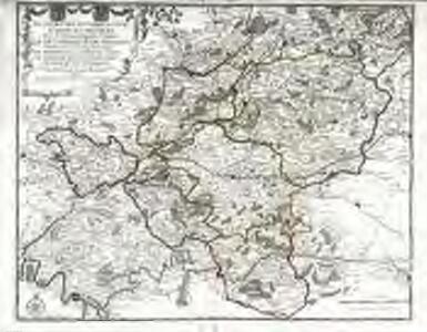 Le cours des rivieres d'Oyse, d'Aisne et de Marne, aux environs desquelles se trouve la généralité de Soissons