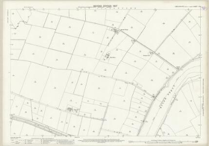 Lincolnshire X.13 (includes: Amcotts; Gunness; Keadby; Luddington) - 25 Inch Map