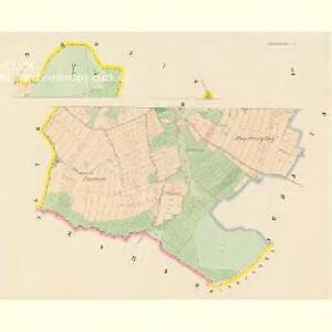 Krzižowitz - c3673-1-002 - Kaiserpflichtexemplar der Landkarten des stabilen Katasters