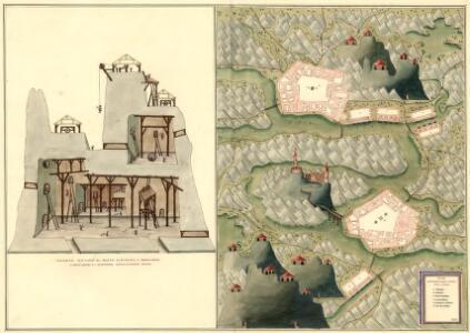 Plan der Bergwerg Indol und Gabor