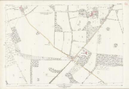 Norfolk LXXXIII.4 (includes: Hilborough; Little Cressingham; Tottington) - 25 Inch Map