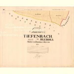 Tiefenbach - m0718-1-004 - Kaiserpflichtexemplar der Landkarten des stabilen Katasters